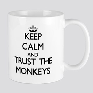 Keep calm and Trust the Monkeys Mugs